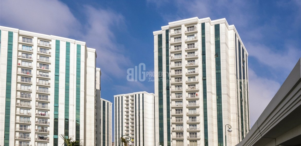 Excellent apartments near biggest shopping mall for sale in Istanbul Avcıilar