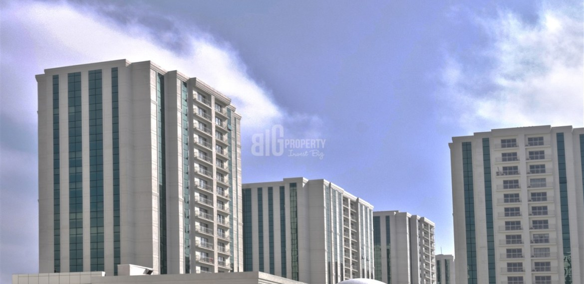 Excellent flats with panaromic city view for sale in Istanbul Esenyurt