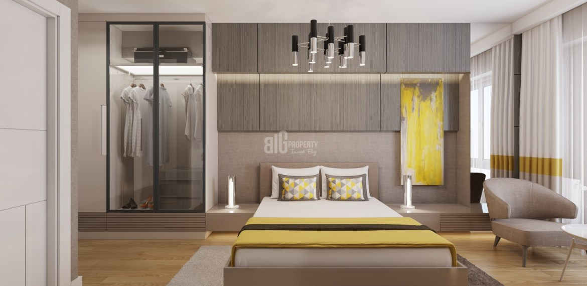 Green apartment for sale in kucukcekmece Istanbul