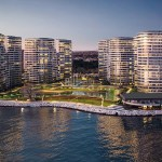 Luxury homes for sale with wonderful sea view in Istanbul Atakoy