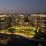 Luxury residential for sale with wonderful sea view in Istanbul atakoy