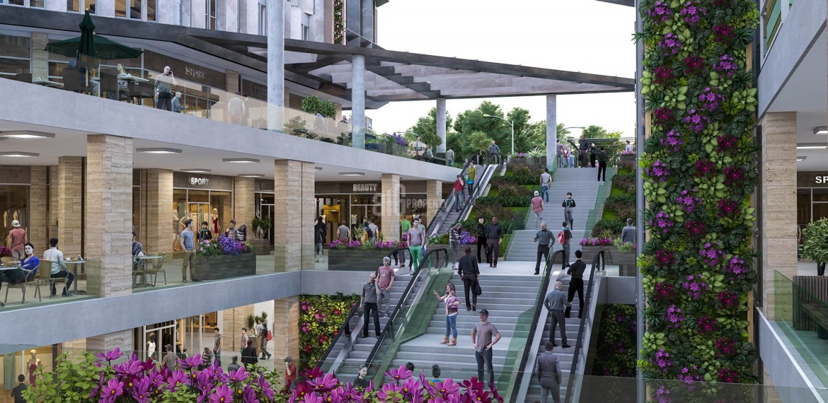 Shops For Sale With Rental Guarantee Inside Shopping Mall for Sale in E-5