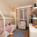 child room of sample apartments azur marmara