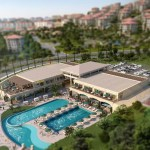 social facility area of deniz istanbul project