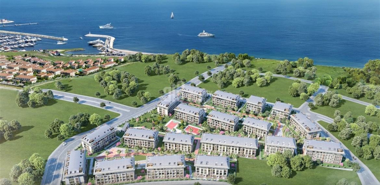 Full Sea view house near to marina for sale Beylikduzu İstanbul