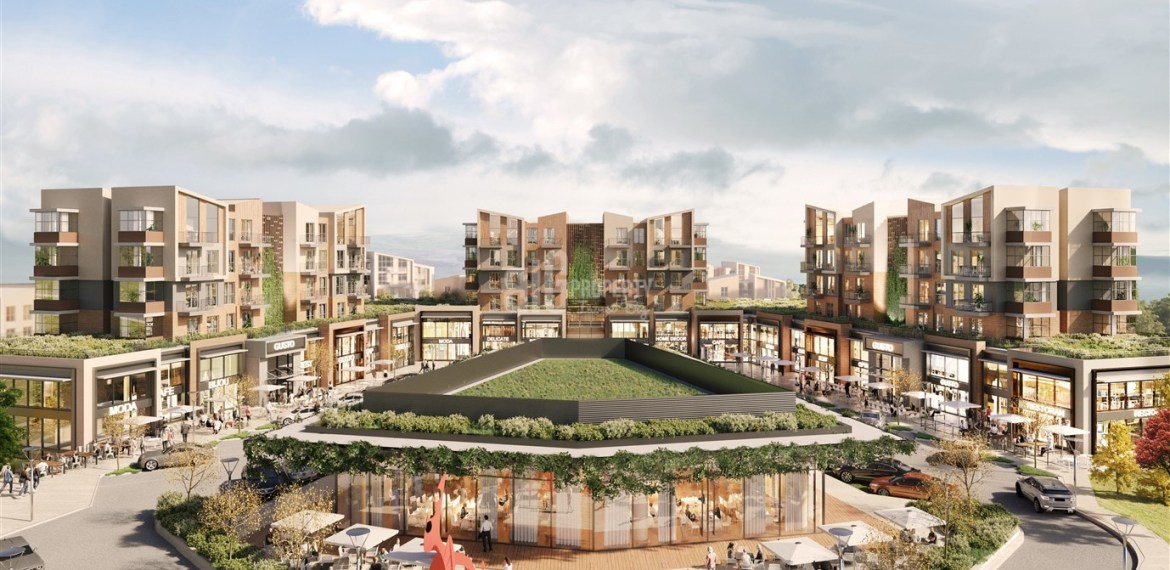 Natural lifestyle properties for sale asian side of Istanbul Cekmekoy