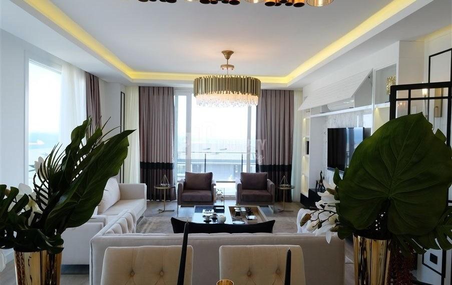 2 rooms flats palm marin sample apartments for salen in beylikduzu