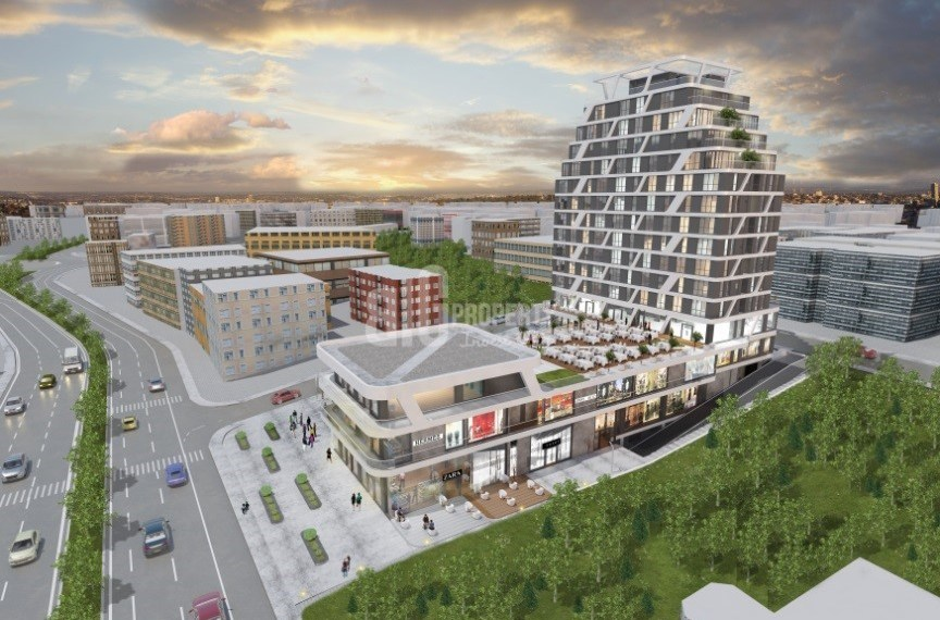 Center of Halkali flats with advatage resale price for sale istanbul Kucukcekmece