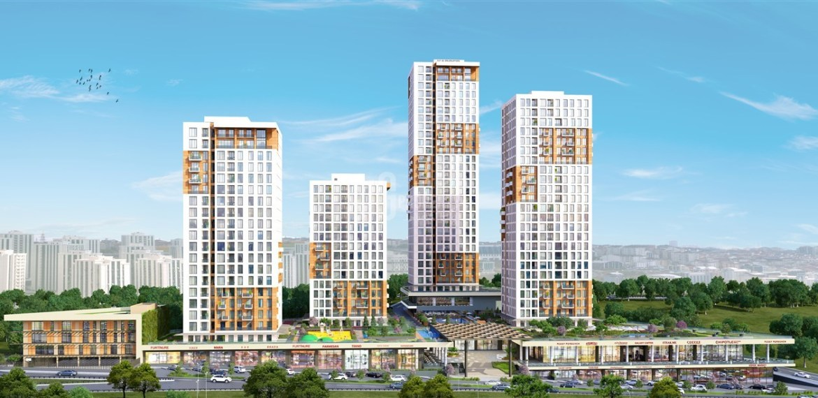 Comfortable ready properties with family Lifestyle for sale beylikduzu İstanbul