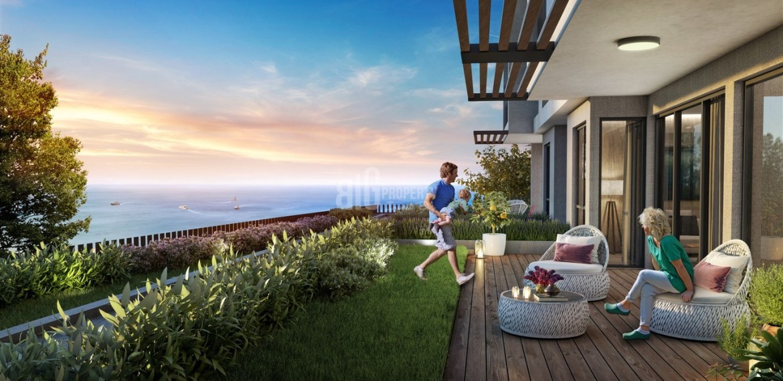 Full Sea view homes near to marina for sale Beylikduzu İstanbul