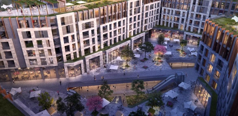 High Tower apartments with horizontal boshphorus view in sisli Bomonti İstanbul