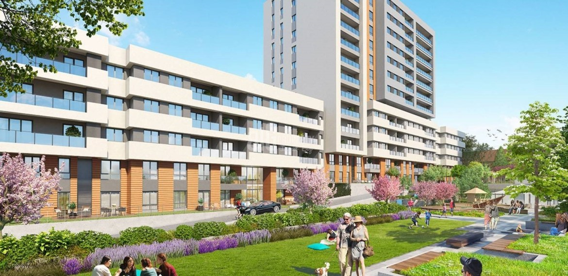 Near to Istanbul airport investing apartment for sale İstanbul Bahcesehir