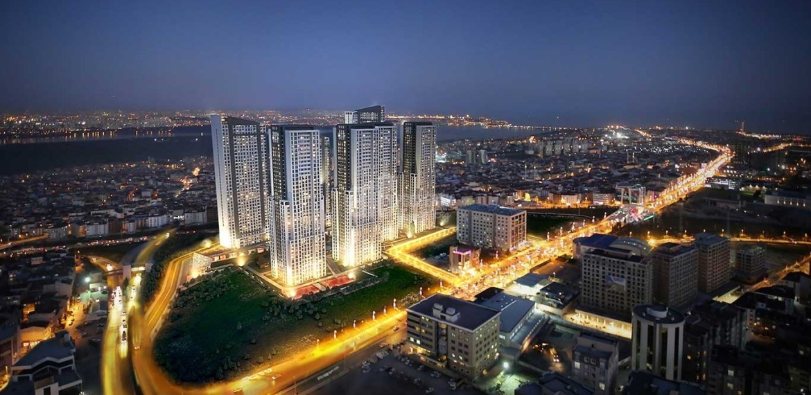New citizenship apartments with reasonable prices for sale for sale İstanbul Esenyurt