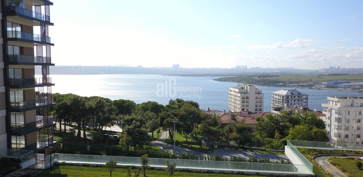 The Most Beautiful canal istanbul citizenshi real estate for sale in Kucukcekmece İstanbul