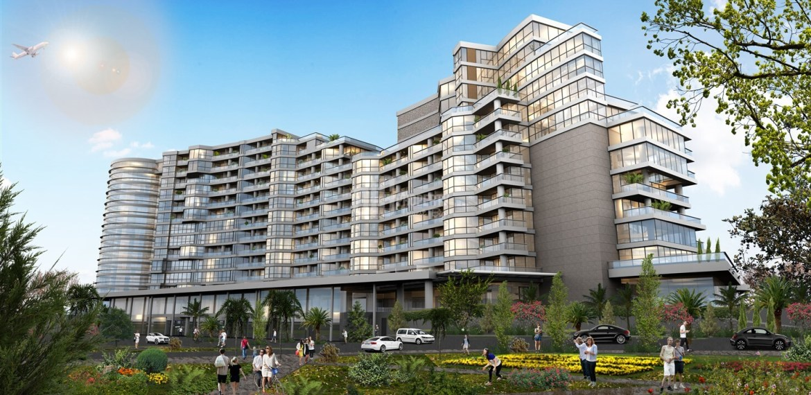 5 stars hotel comfortable real estate close to E-5 for sale Basin Ekspres Way İstanbul