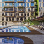 Attractive payment plan opportunity lake view city center houses for sale Avcilar Istanbul