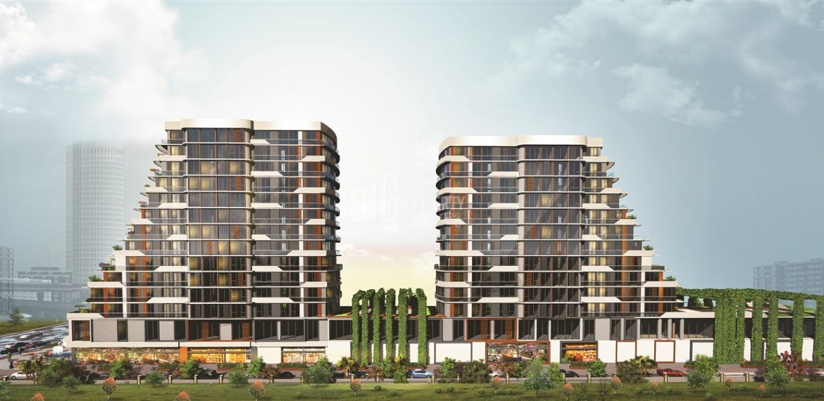 Boutique and contemporary flats in İstanbul Yenibosna
