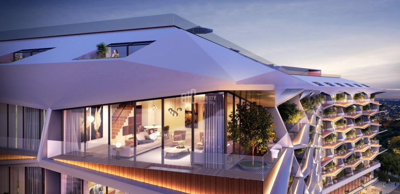 Estetic style city center citizenship apartments for sale Beyoglu Istanbul