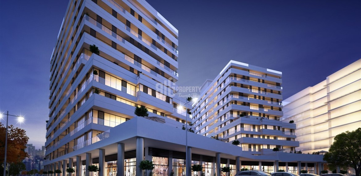 Excellent locations apartments for invesment in İstanbul Maslak