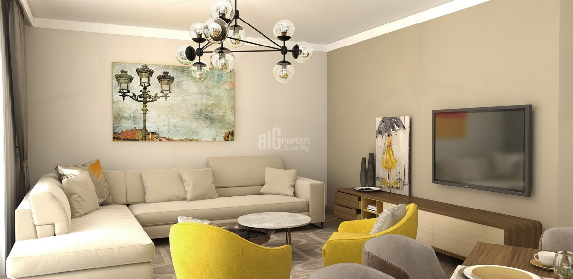Forest and City view residence for sale pendik İstanbul