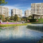 Luxury residantial homesfor sale with wonderful city view near to highway in Istanbul Kagithane