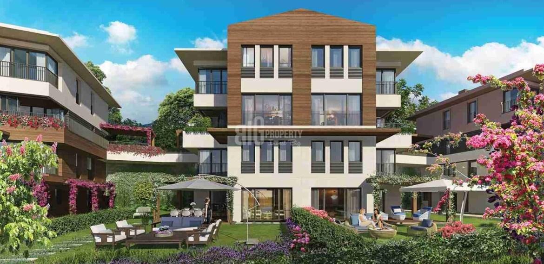 eston sehir koru peacefull location natural quality family apartments for sale Istanbul Basaksehir