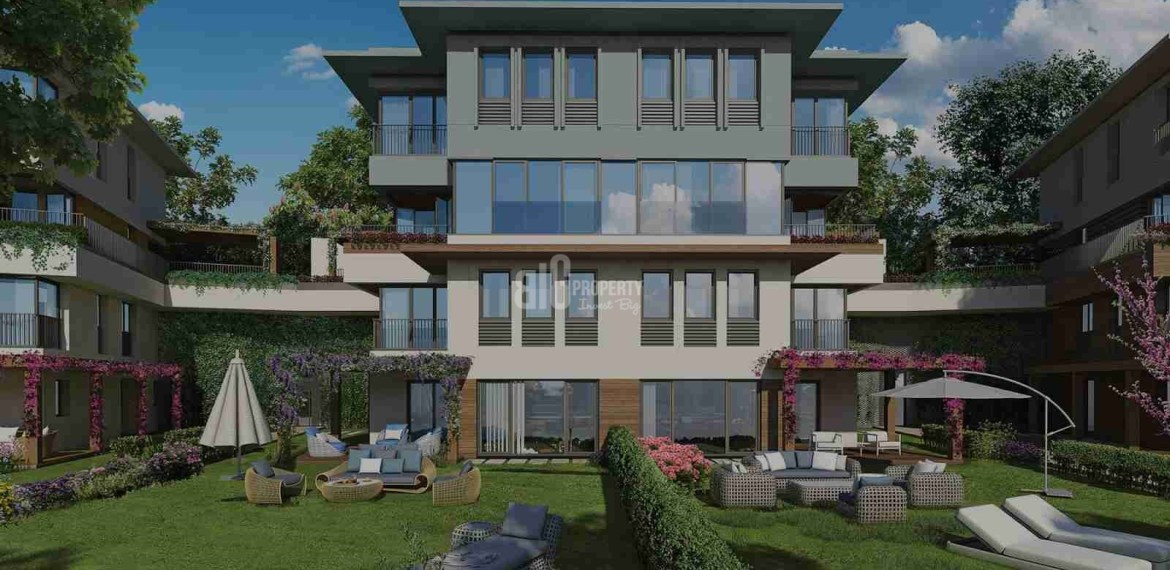 peacefull location natural quality family apartment for sale Turkey Istanbul Basaksehir