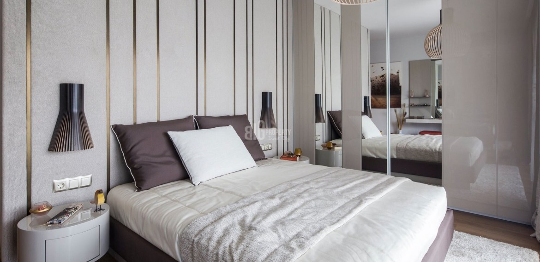 sample apartment 3 rooms for sale 5. levent torunlar