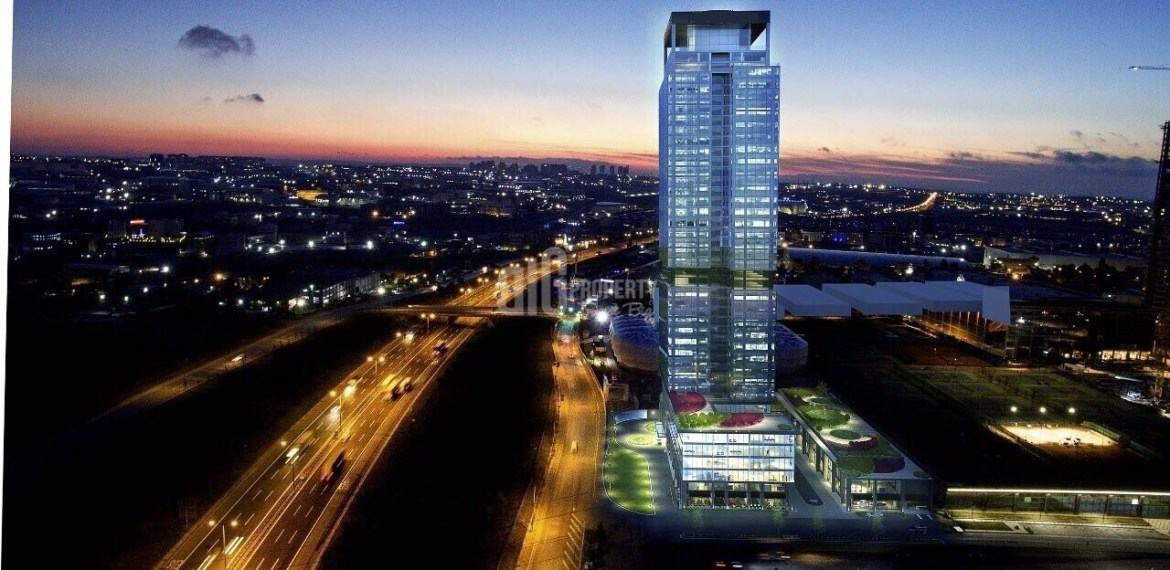 5 stars shreton hotel branded with rental gurantee hotel apartment for sale İstanbul