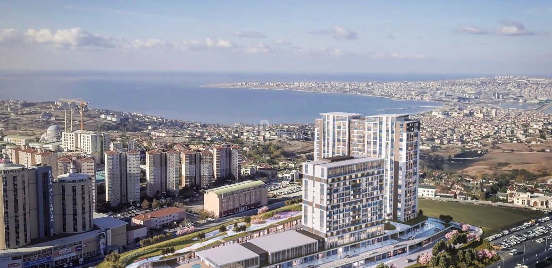 The best compound in beylikduzu office residence shops with public transportation for sale Istanbul Beylikduzu