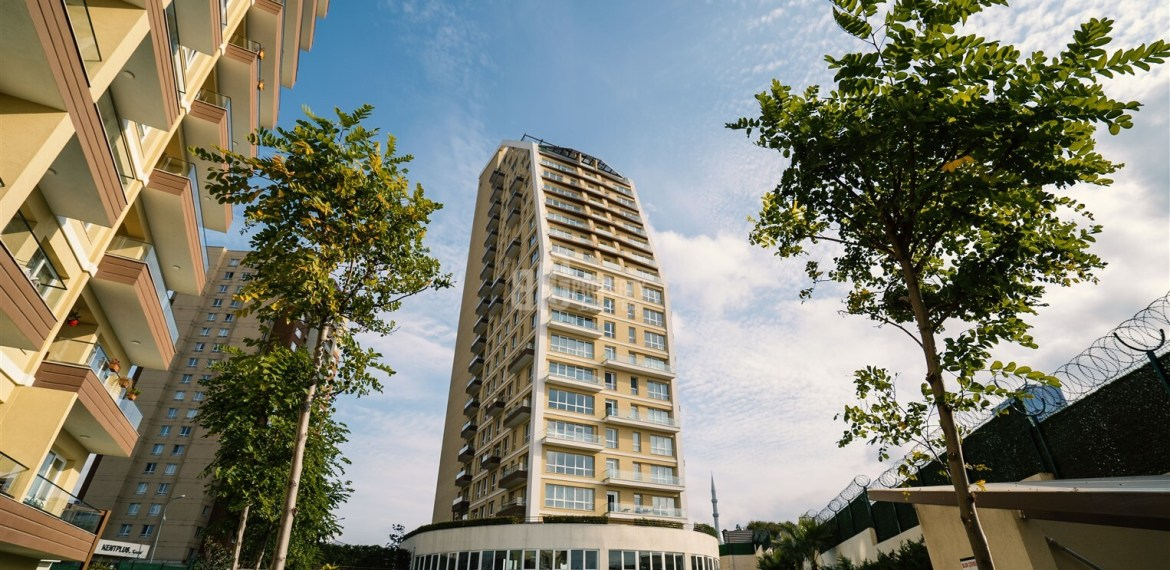 Asian Side Symbol dizayn apartments for sale sea and ısland view asian side of istanbul Kartal