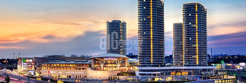 Mall of İstanbul Lux Service and hotel apartments high rental guarantee for sale Basaksehir Istabul