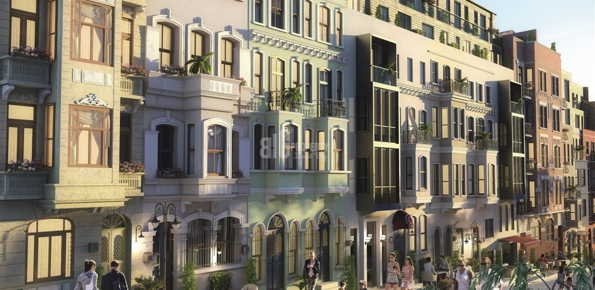 taksim 360 Historical architectural Office and Apartments for sale