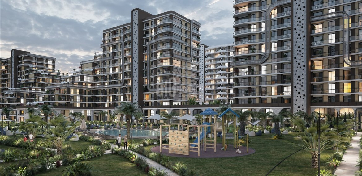 turkish citizenship apartments for sale Demir country Old Historical city Concept property with sea view for sale Istanbul Beylikduzu