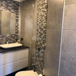 bathroom in istanbul saraylari project for sale in kucukcekmece