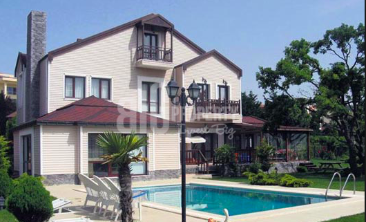 1 lake view luxury villas for sale in istanbul buyukcekmece