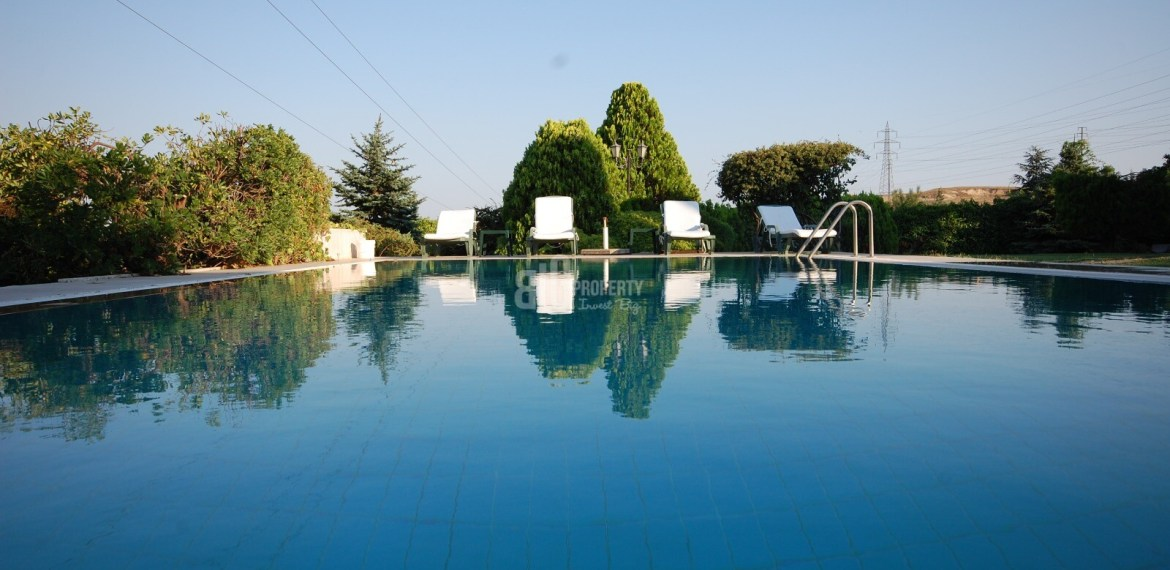 Big Villas 6+2 with swimming pool for sale in istanbul (14)