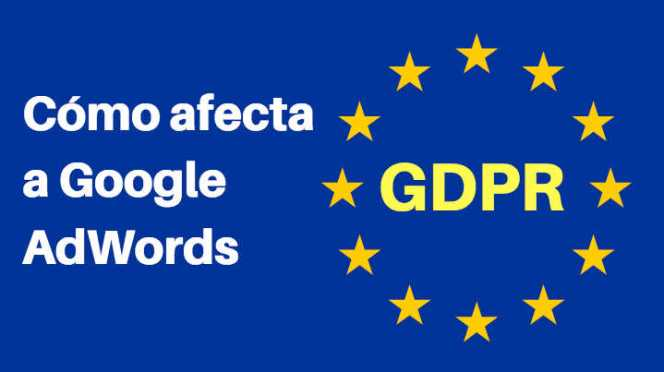 GDPR google adwords