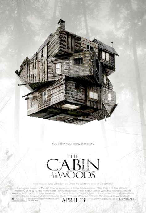 Image result for the cabin in the woods poster