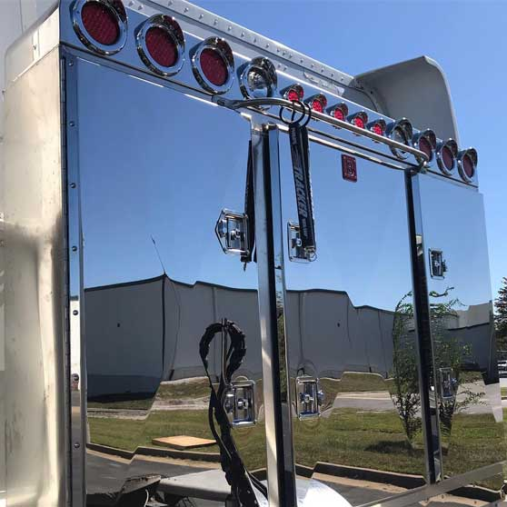 big rig chrome shop semi truck chrome