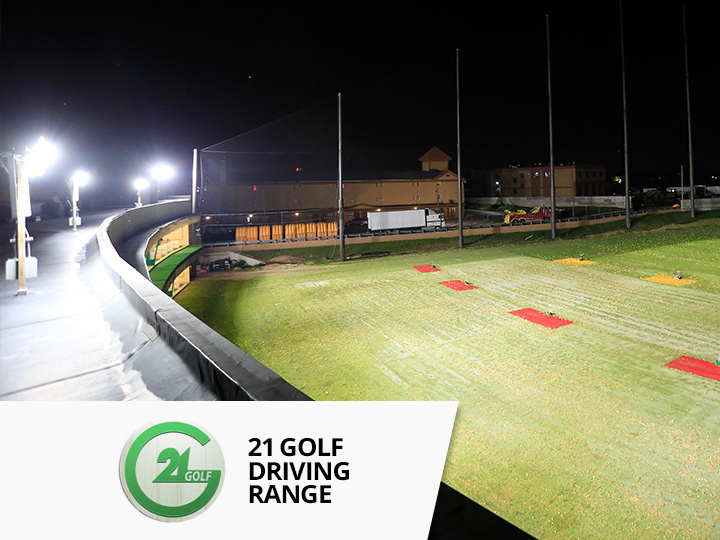 Big Shine Energy - 21 Golf Driving Range