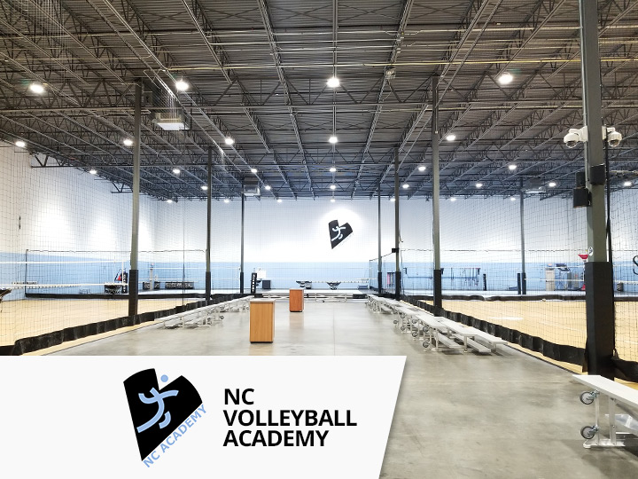 Big Shine Energy - NC Volleyball Academy LED Lighting Project