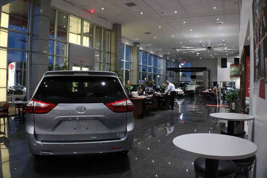 Big Shine Energy: A1 Toyota Automotive LED Retrofit Case Study