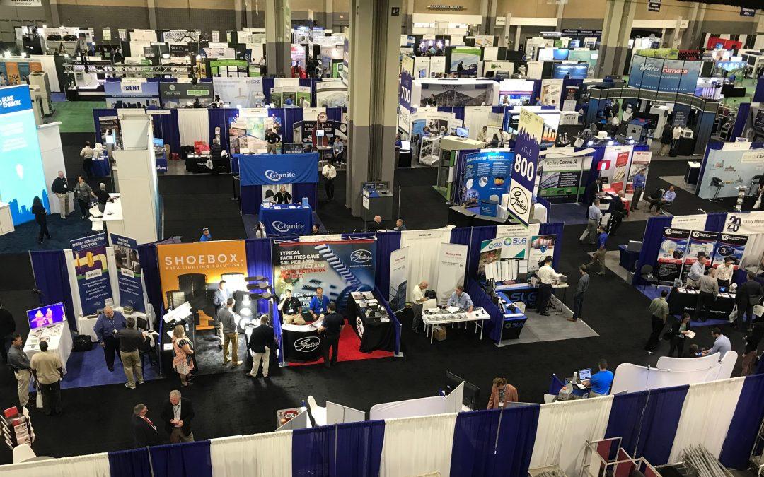 Big Shine Energy exhibits at WEEC