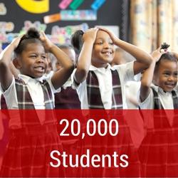 20,000 students