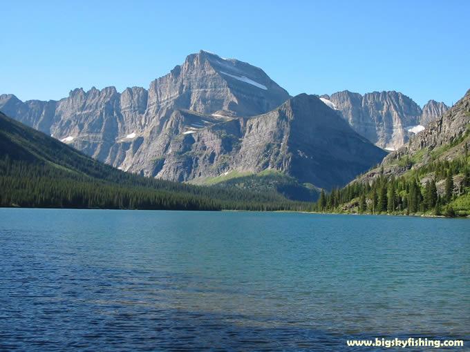 Glacier National Park Photographs  Lake Josephine