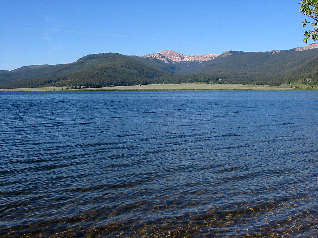 Hebgen Map Lake Montana