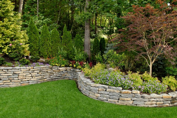 big sky landscaping - retaining