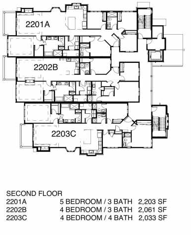 Lodges FLOOR PLANS w Pricing-2