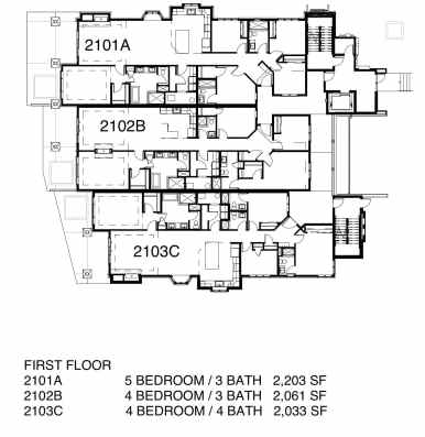 Lodges FLOOR PLANS w Pricing